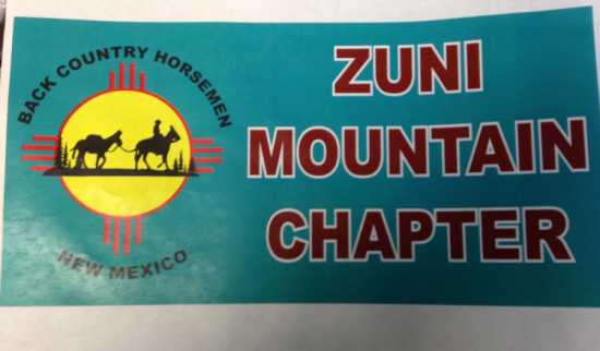 Back Country Horsemen NM Zuni Mountain Chapter