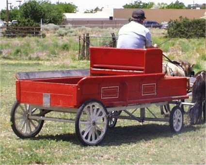 Red Wagon Needs Home